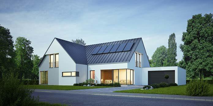 Funkcjonalna otwarta strefa dzienna w nowoczesnym domu parterowym - co powinna zawierać?