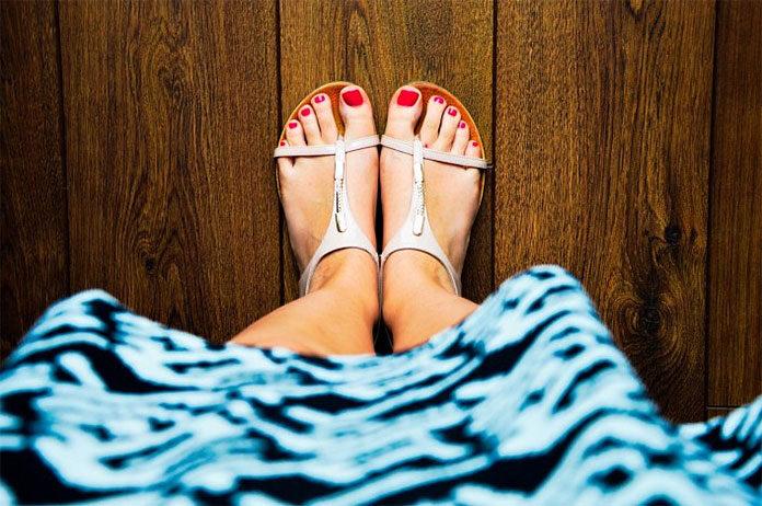 damskie sandały na lato