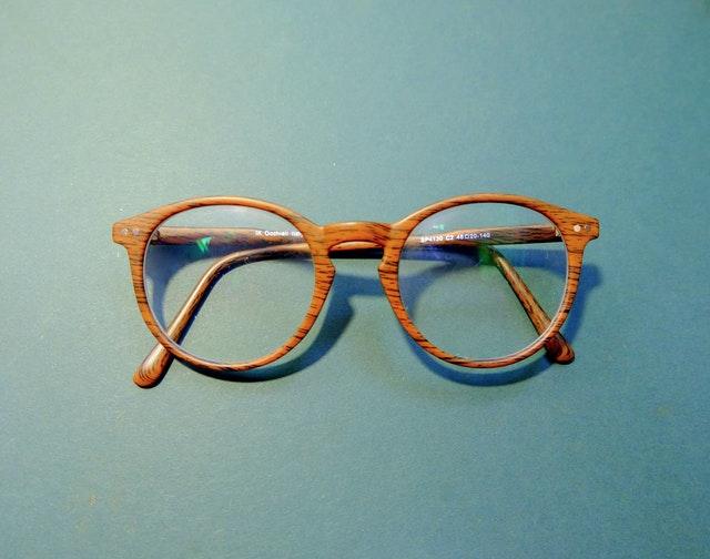 okrągłe okulary korekcyjne