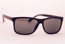 Modne okrągłe ciemne okulary dla mężczyzn